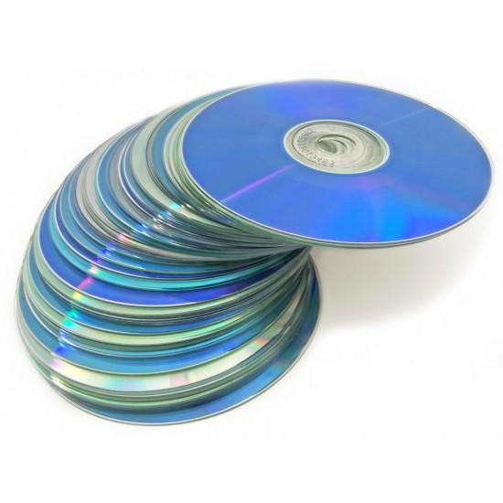 CD, DVD, BluRay