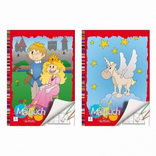 Carte de colorat a4 24 file diverse modele - 0502419