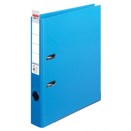 Biblioraft a4 5cm pp interior-exterior albastru deschis - 10834828