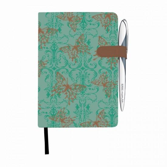 Bloc notes a5 96f dictando coperta tare lucioasa magnet my.book classic butterly - 11369386