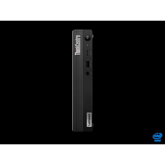 Desktop lenovo thinkcentre m70q tiny , intel core i3-10100t (4c / 8t, 3.0 / 3.8ghz, 6mb), ram 1x 8gb so-dimm ddr4-2666, ssd1x 256gb ssd m.2 2280 pcie nvme opal, video: integrated intel uhd graphics 630, optic: none, card reader: n - 11DT003GRI