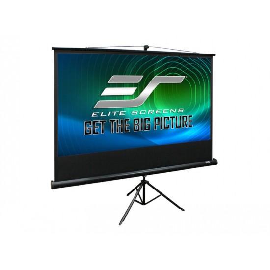 Ecran de proiectie trepied, 200 x 200 cm, elitescreens t113uws1 - 1/1TR200-T113UWS1