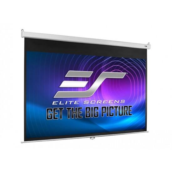 Ecran de proiectie pentru perete/tavan elitescreens srm-pro, m100hsr-pro, 220 cm x125 cm, format 16:9, slow retraction - 16/9MN220-M100HSR-PRO
