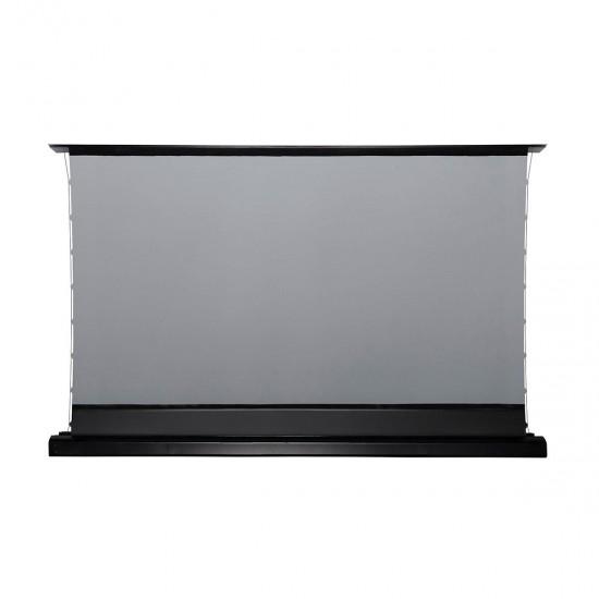 Ecran de proiectie floor up tab tensionat elitescreens 266 x 149, alr dedicat pentru videoproiectoarele ust, 16:9 - 16/9POD260-FTE120H2-CLR