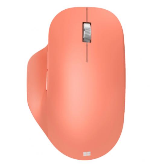 Mouse microsoft bluetooth ergonomic, wireless, peach - 222-00040