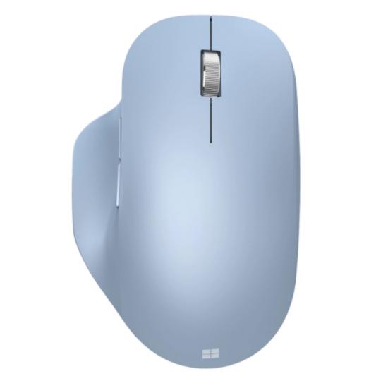 Mouse microsoft bluetooth ergonomic, wireless, albastru - 222-00056