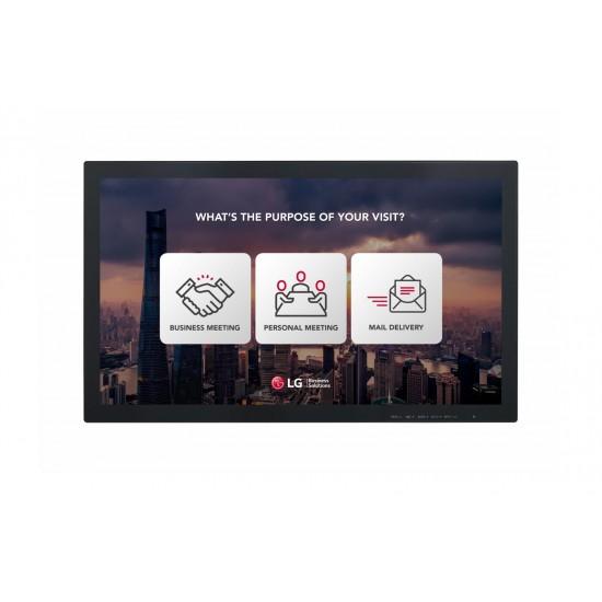 Ecran interactiv monitor touch lg, 23 (58cm), fhd, operare 16/7, luminozitate 250nit, timp raspuns 5ms, [...]; conectivitate: input: 1xd-sub, 1xhdmi, 1xusb; output: headphone; landscape/portrait, vesa 75x75, dimensiuni 555×3 - 23SE3TE
