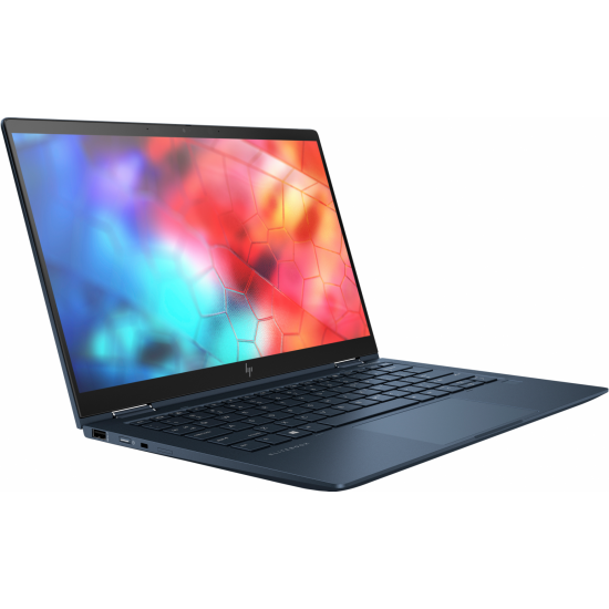Laptop hp elitedragonfly x360 , 13.3 inch fhd bright view touch low power narrow bezel 400 nits (1920x1080), intel core i7-1165g7 quad core ( 2.8ghz, up to 4.7ghz, 12mb), video integrat intel xe graphics, ram 16gb lpddr3 4266mhz,  - 358V9EA