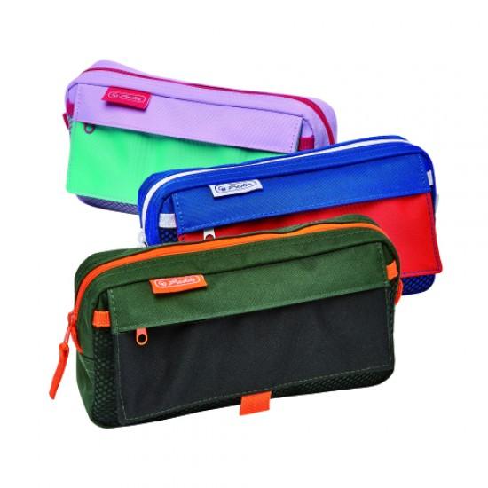 Necessaire 2 compartimente fresh colors diverse culori - 50022014