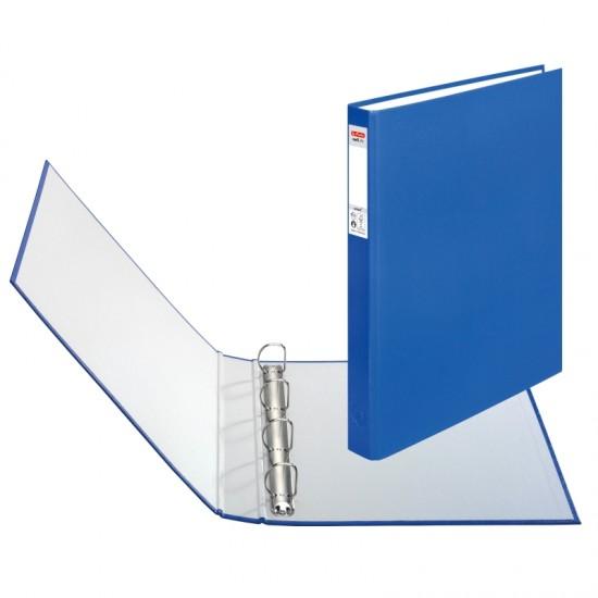 Caiet mecanic a4 4inele albastru - 5304043