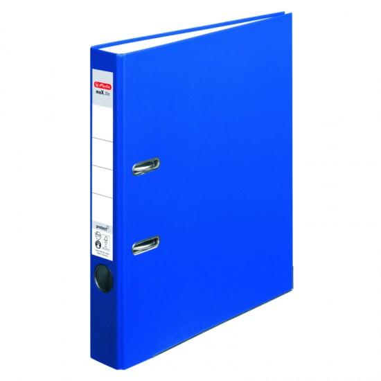 Biblioraft a4 5cm pp albastru herlitz - 5450408