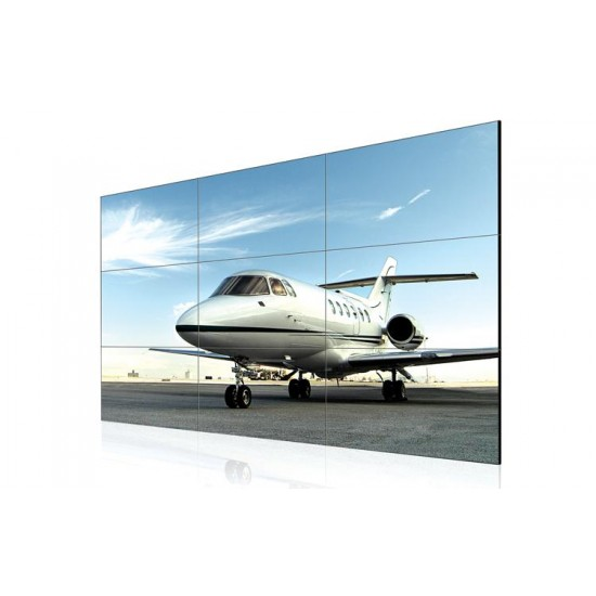 Ecran videowall lfd monitor lg, 55 (140cm), fhd, operare 24/7, luminozitate 500nit, timp raspuns 12ms, contrast 1400:1, supersign w/c, [...]; vesa 600x400, dimensiuni 1213.4x684.2x88.5mm, greutate 23kg, consum max 160w. - 55LV35A