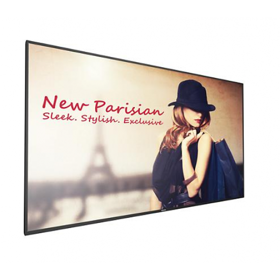 Ecran profesional lfd monitor signage philips 65 fhd 24/7 450nitnit android 4.4.4 cmnd create conectivitate: input: 1xd-sub, 1xdvi, 1xdp, 2xhdmi, 2xusb, 1xusb 5v2a, 1xlan, 1xrs232c, 1xir; - 65BDL4050D/00