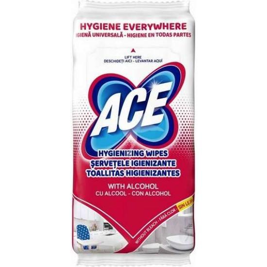 Ace serv.igienizante universale cu alcool  40buc - 8001480708334