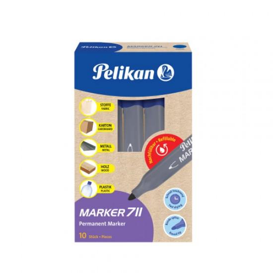 Marker permanent 711 albastru - 817905