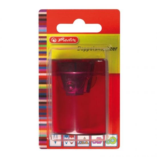 Ascutitoare dubla butoias plastic/blister - 8680100