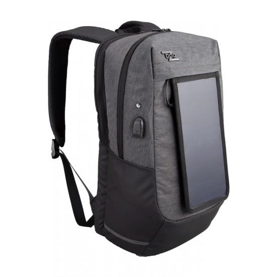 Rucsac bagz solar 46x28x22 gri - 9484580