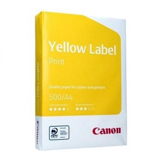 Hartie copiator a4 - 80 gr. pe mp, 500 coli pe top, canon yellow paper - A4CANO