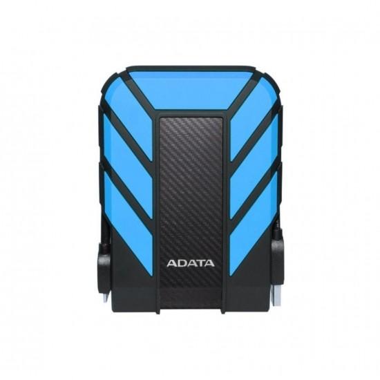 Hdd extern adata, 1tb, hd710 pro, 2.5, usb 3.1, plastic si silicon, rezistent la socuri, albastru - AHD710P-1TU31-CBL