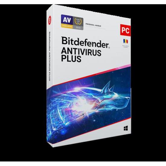 Licenta retail bitdefender antivirus plus - protectie de bazapentru pc-uri windows, valabila pentru 1 an, 1 dispozitiv, new - AV03ZZCSN1201BEN