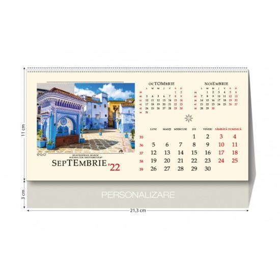 Calendar de birou strazi - CBS