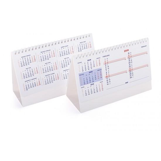 Calendar de birou triptic - CBT