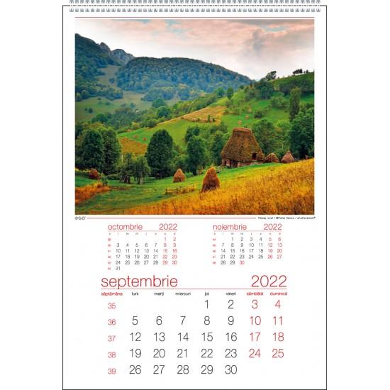Calendar de perete romania - CPRO