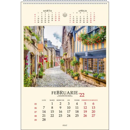 Calendar de perete strazi - CPS