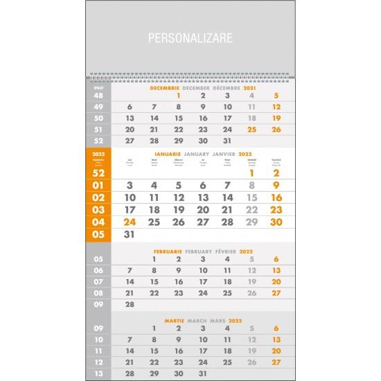 Calendar de perete triptic special - CPTS