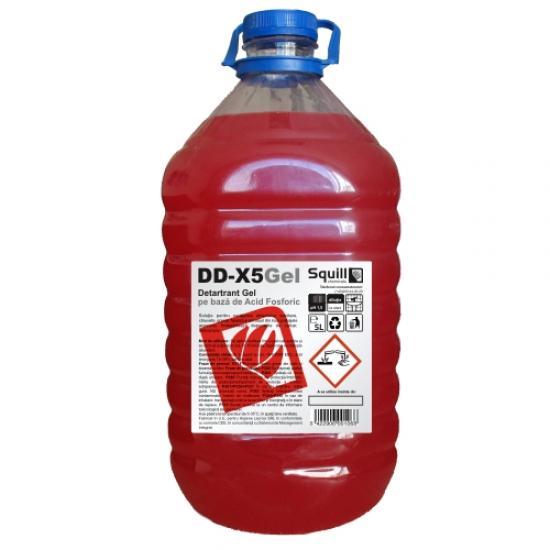 Detartrant anticalcar gel, 5 l - DD-X5GEL