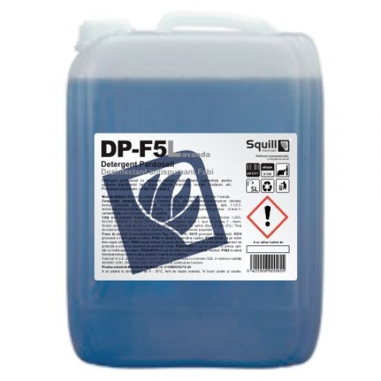Detergent dezinfectant pardoseli, squill, 5l - DP-F5L
