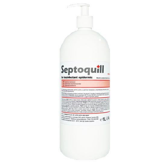 Gel dezinfectant epidermic, septoquill, 1l - GD-Q1