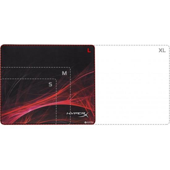 Mouse pad kingston hyperx fury s pro gaming, xl, negru - HX-MPFS-S-XL