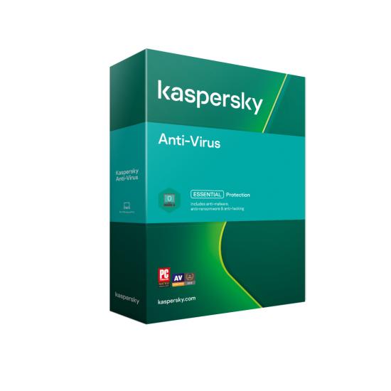 Licenta retail kaspersky anti-virus - protectie premiata, eficienta si securitate usor de gestionat, valabila pentru 1 an, 1 echipament, new - KL1171O5AFS