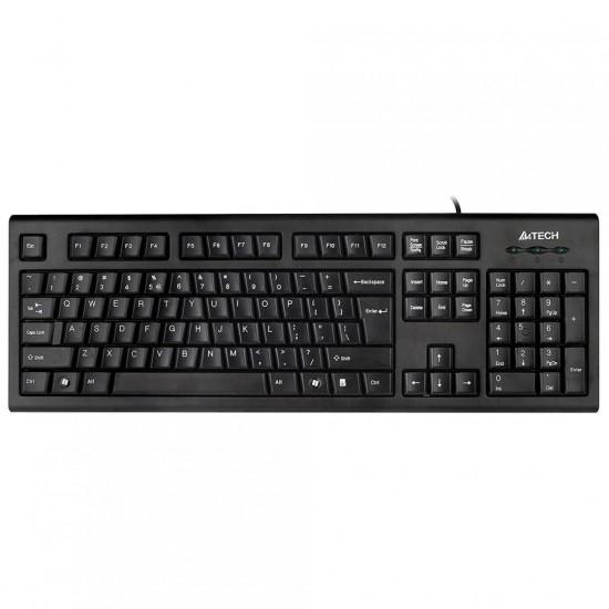 Tastatura kr-85 a4tech, usb, neagra - KR-85-USB