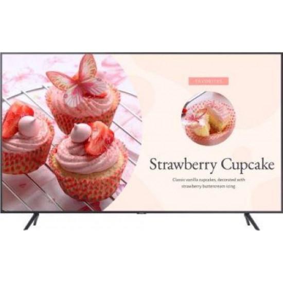Ecran profesional lfd monitor signage samsung be43t, 43 (109cm), uhd, operare 16/7, luminozitate 250nit, timp raspuns 8ms, contrast 4700:1, tizen, [...]; conectivitate: wifi 5, bt; input: tuner tv dvb-t2cs2, 2xhdmi, 1xusb, 1xlan;  - LH43BETHLGUXEN