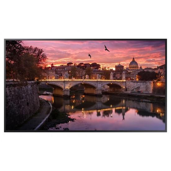 Ecran profesional lfd monitor signage samsung qb55r, 55 (140cm), uhd, operare 16/7, luminozitate 350nit, timp raspuns 8ms, contrast 4700:1, haze 2%, tizen 4.0, magicinfo s6, [...]; conectivitate: wifi, bt; input: 1xdvi, 2xhdmi 2.0 - LH55QBREBGCXEN