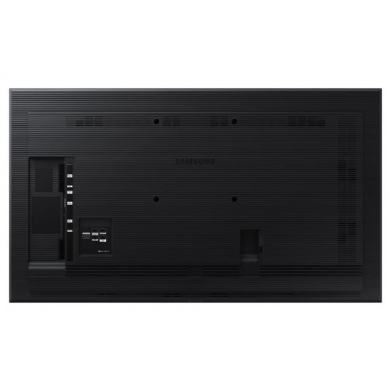 Ecran profesional lfd monitor signage samsung qb75r, 75 (191cm), uhd, operare 16/7, luminozitate 350nit, timp raspuns 8ms, contrast 4000:1, haze 2%, tizen 4.0, magicinfo s6, [...]; conectivitate: wifi, bt; input: 1xdvi, 2xhdmi 2.0 - LH75QBREBGCXEN
