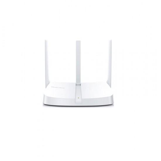 Router wireless mercusys n 300 mbps, mw305r; standarde wireless: ieee 802.11n, ieee 802.11g, ieee 802.11b; frecventa: 2.4 - 2.4835ghz; 3x porturi lan 10/100mbps, 1x port wan 10/100mbps; 3x 5dbi antene omnidirecţionale nedetasabil - MW305R