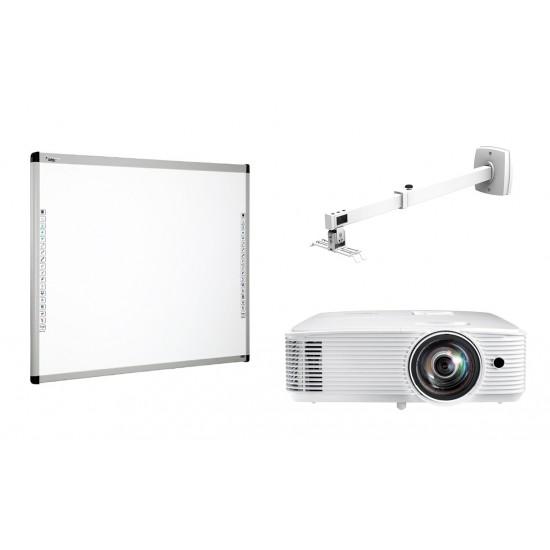 """Pachet interactiv donview 86"""" + optoma x309st + prb-8m - PAC-DB86-X309ST-PRB8M"""