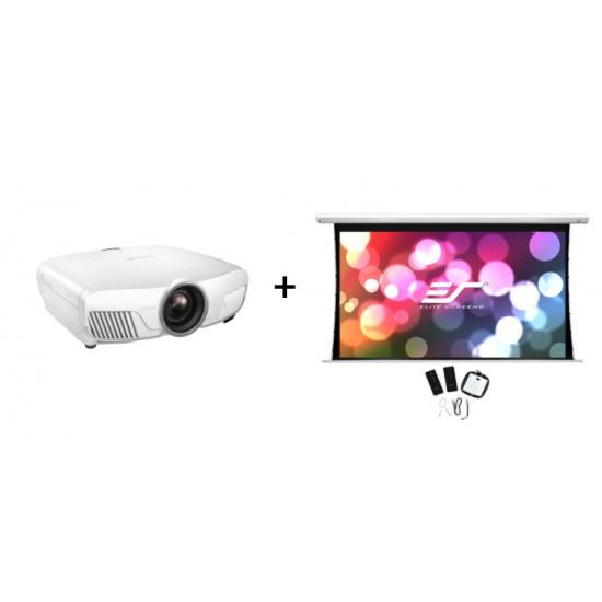 Pachet videoproiectie cu epson 4k eh-tw9400w si ecran electric elitescreens saker skt135xhw-e6, 16:9 - PAC-EP-EH-TW9400W+SKT135XHW-E6