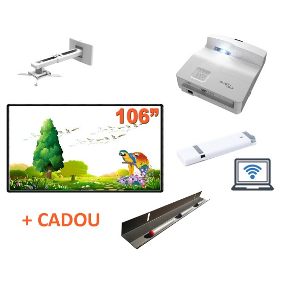 Pachet interactiv ib106rs + eh330ust + suport + modul wifi si pentray cadou - PAC-IB106RS-EH330UST-PRB11S-WIFI