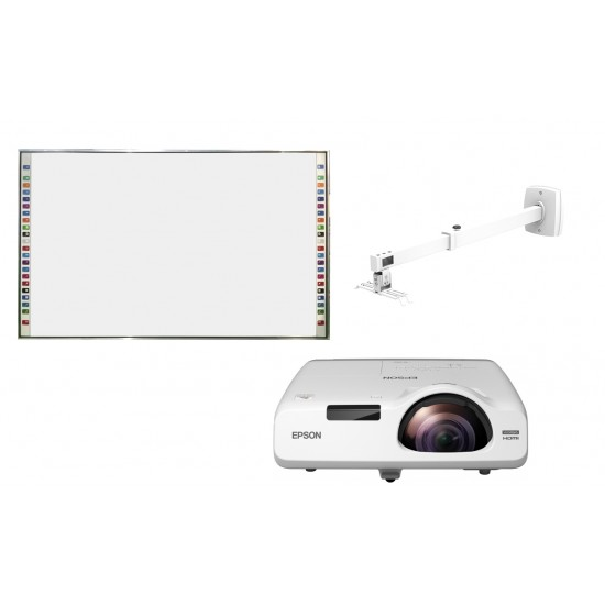 Pachet interactiv evoboard ib-95q + epson eb-535w + prb-8m - PAC-IB95-535W-PRB8M