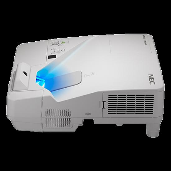 Videoproiector interactiv cu pen nec um352w ultra short throw, wxga 1280 x 800, 3500 lumeni - PROVID-NEC-UM352WI