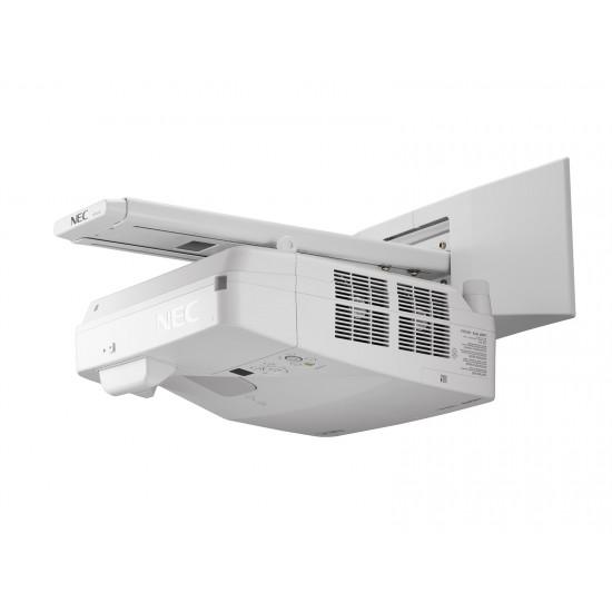 Videoproiector interactiv ultra short throw um352wi multi touch, 3500 lumeni, 1280x800 - PROVID-NEC-UM352WI-MT