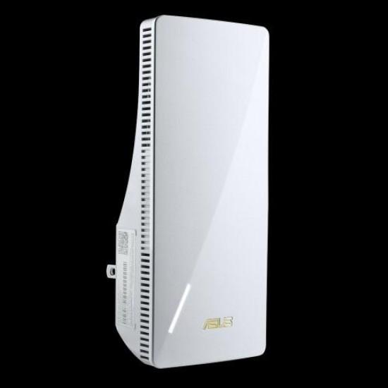 Asus rp-ax56, ax1800 dual band wifi 6 (802.11ax) range extender / aimesh extender, network standard: ieee 802.11a, ieee 802.11b, ieee 802.11g, wifi 4 (802.11n), wifi 5 (802.11ac), wifi 6 (802.11ax, ipv4, ipv6, ax1800 ultimate ax p - RP-AX56