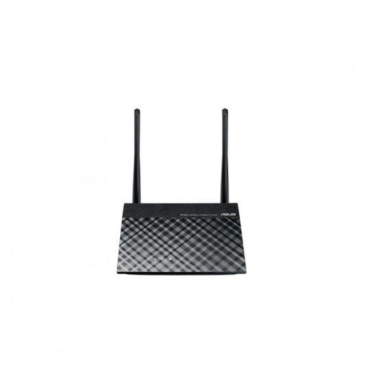 Asus router/ap/range extender pentru spatii largi, rt-n12+, n300; 300mbps, ieee 802.11b, ieee 802.11g, ieee 802.11n, ipv4, ipv6, 2 x antena fixa de 5 dbi, 2.4 ghz, ip automat, ip static, pppoe (suporta mppe), pptp, l2tp, 1 x rj45  - RT-N12+