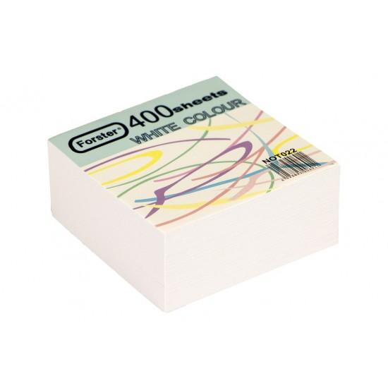 Rezerva cub din hârtie alba - 2673