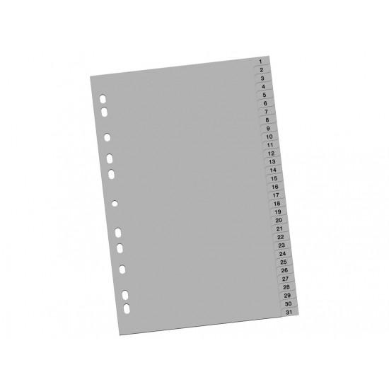 Index din plastic 1-31 - 2779