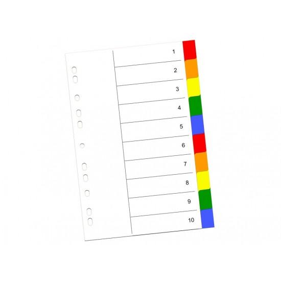Index color din plastic 10 buc - 2780